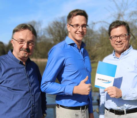 Auch das Team in Bad Salzuflen tritt zur Kommunalwahl an!