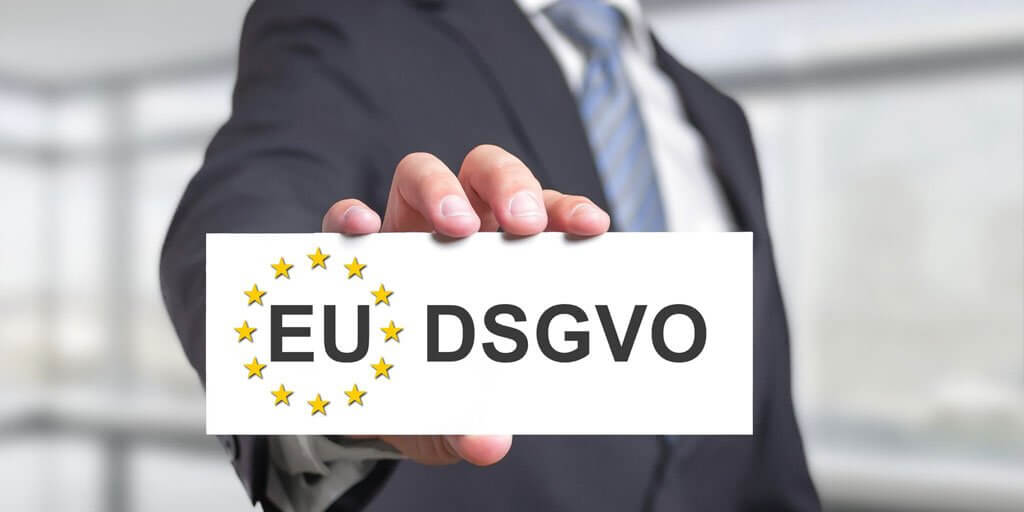 EU Datenschutzrichtlinien DSGVO