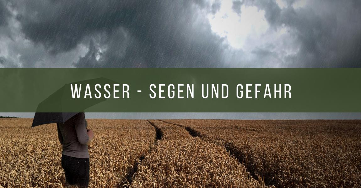 Über den Umgang mit Regenwasser