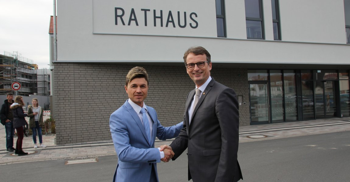 AUFBRUCH C unterstützt den Bürgermeisterkandidaten der CDU