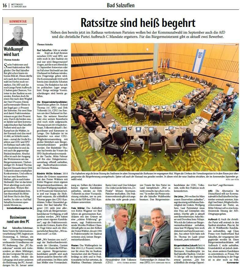 Kommunalwahl Bad Salzuflen