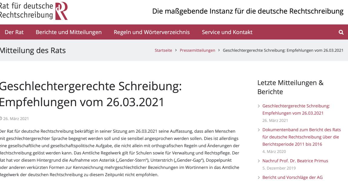 AUFBRUCH C stellt Antrag: keine Gendersprache in der Verwaltung des Kreises Lippe